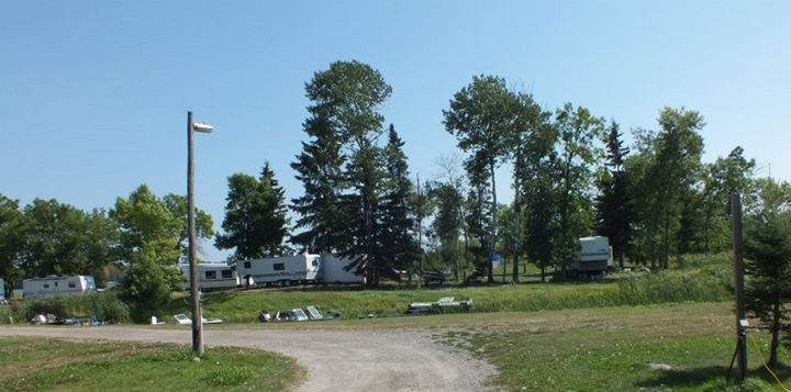Campground at Birch Point Camp